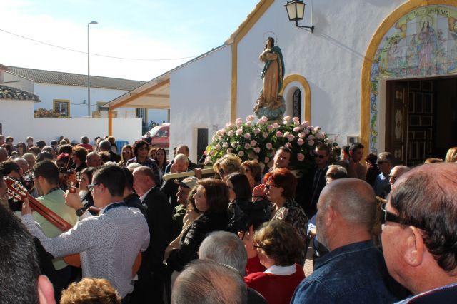 La pedanía lumbrerense de La Estación- Esparragal celebra el día grande de sus fiestas en honor a la Purísima Concepción - 3, Foto 3