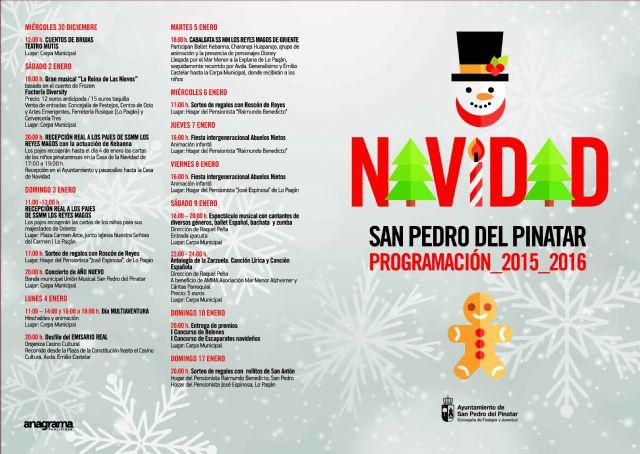 Más de cincuenta actividades para disfrutar de la Navidad en San Pedro del Pinatar - 1, Foto 1