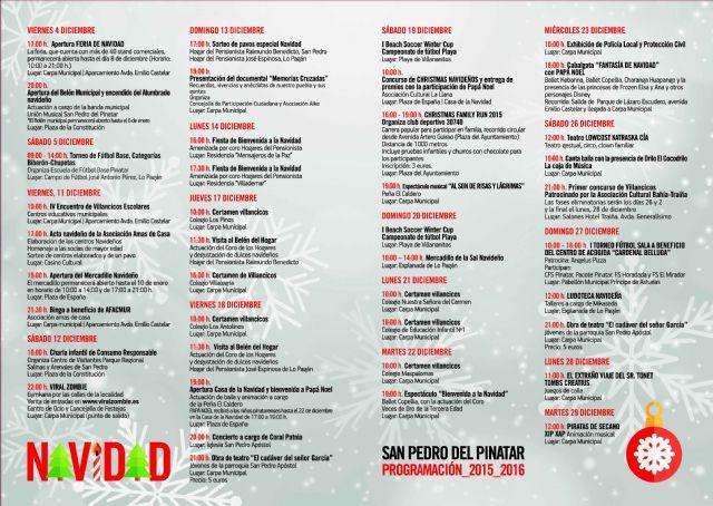 Más de cincuenta actividades para disfrutar de la Navidad en San Pedro del Pinatar - 2, Foto 2