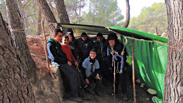 Los scouts se van de Campamento de Invierno, Foto 4