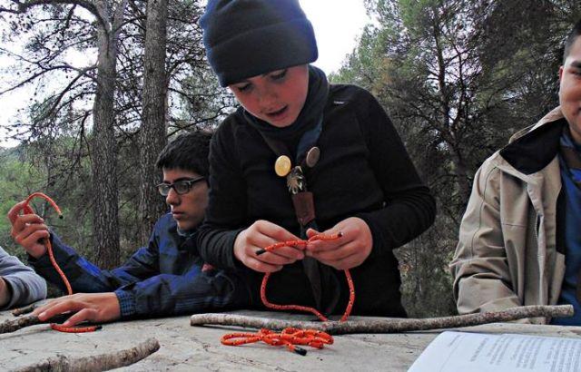Los scouts se van de Campamento de Invierno, Foto 5