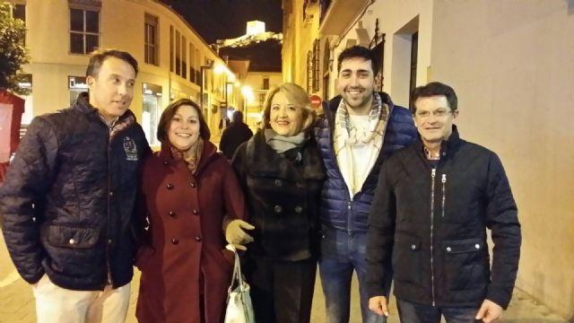 El Partido Popular de la Región de Murcia celebraba el viernes su primer mitin, Foto 2