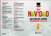 Más de cincuenta actividades para disfrutar de la Navidad en San Pedro del Pinatar