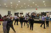 Baile de parrandas para cerrar las fiestas de la pedanía de La Estación- Esparragal en honor a la Purísima 2015