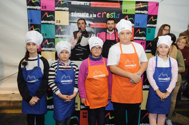 gAstrogAllo Junior reúne a una veintena de niños que muestran sus dotes en la cocina, Foto 3