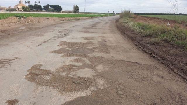 Fomento llevará a cabo el arreglo de la carretera que conecta Torre Pacheco y Pozo Estrecho - 1, Foto 1