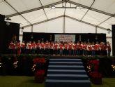 Los escolares pinatarenses cantan a la Navidad en el IV Encuentro de Villancicos escolares