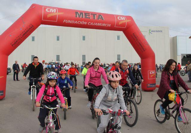 Cerca de 200 personas participan en el Ciclopaseo en El Esparragal-La Estación de Puerto Lumbreras - 1, Foto 1