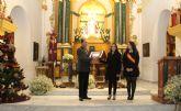 El presidente del Patronato Virgen del Rosario pregonó la Navidad en Puerto Lumbreras