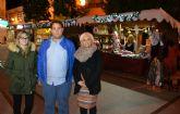 La plaza de España se viste de Navidad