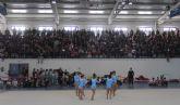 Exhibición de Gimnasia Rítmica en el Centro Deportivo de Puerto Lumbreras