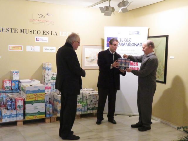 Los murcianos donan más de 1.500 litros de leche a Jesús Abandonado gracias a la iniciativa del Museo Ramón Gaya - 1, Foto 1