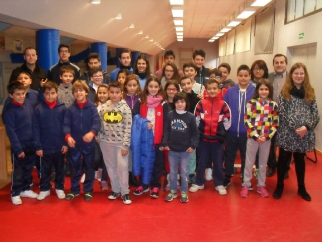 "The Sports Council organized the Local Phase Chess School Sports in the Sports Pavilion ""Manolo Ibáñez"""