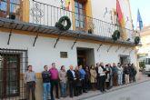 Minuto silencio en Archena en homenaje a los dos policias nacionales españoles asesinados en KAbul