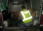 La Guardia Civil detiene in fraganti al presunto autor de varios hurtos de naranjas en Torre Pacheco