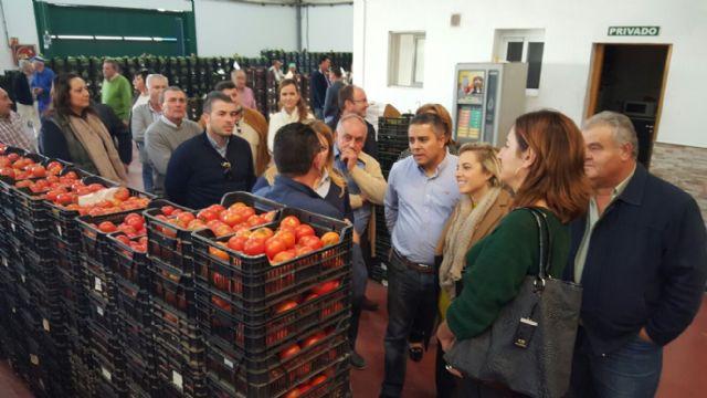 EL PP Regional Visita a Agrimur en Mazarrón, Foto 2