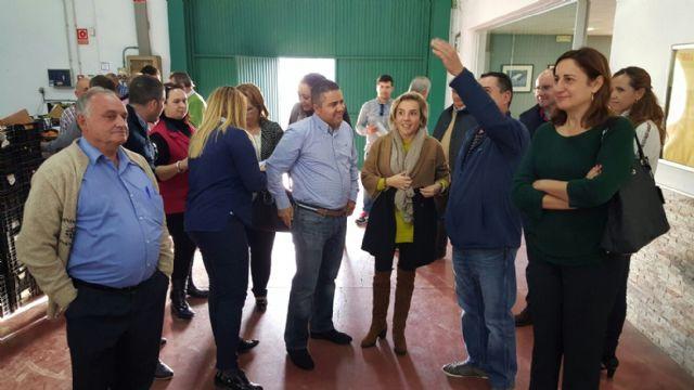EL PP Regional Visita a Agrimur en Mazarrón, Foto 3