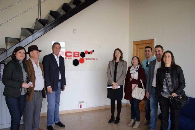 Visita del Partido Popular a la empresa PCS GRAPHIC ART PRODUCTS, S.L, Foto 2