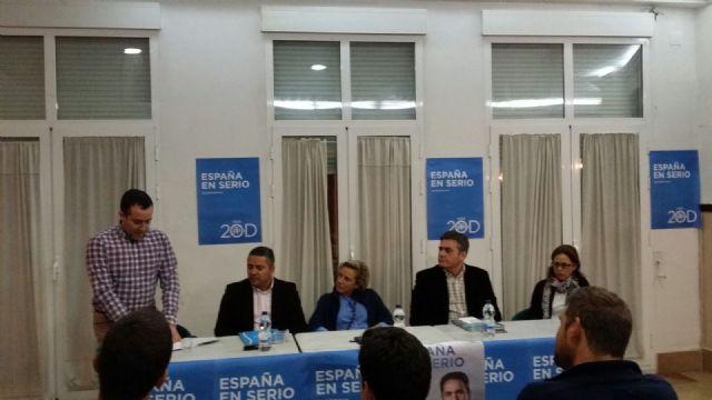 Acto sectorial del PP con la Consejera de Agua, Agricultura y Medio Ambiente, Adela Martinez-Cachá, Foto 1