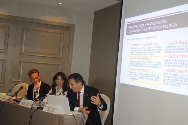 Las medidas de transparencia y participación del municipio, expuestas ante la FEMP, Foto 1
