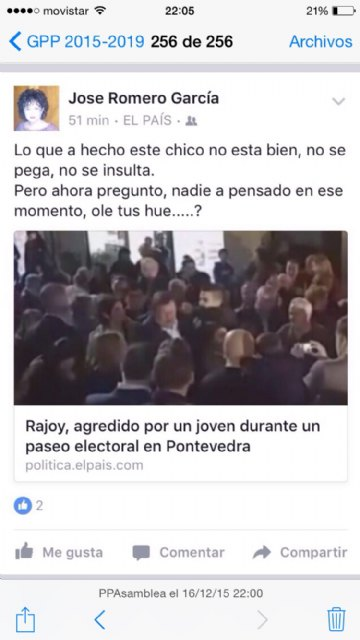 """Iniesta: """"The PP requires the PSOE and IU to prevent Maria Jose Romero Garcia takes office as headman of Totana"""""""
