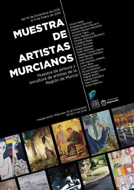 Abre la Muestra de Artistas y Pintores Murcianos en el Centro Cultural Infanta Elena durante la Navidad - 1, Foto 1