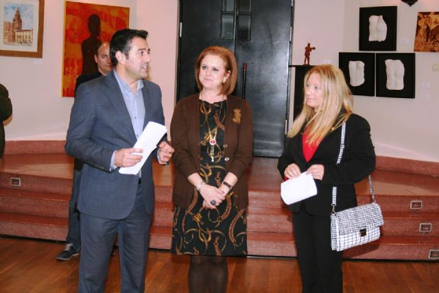 Abre la Muestra de Artistas y Pintores Murcianos en el Centro Cultural Infanta Elena durante la Navidad - 4, Foto 4