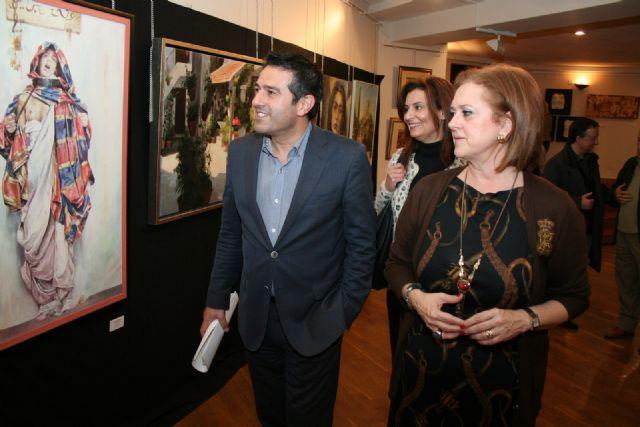 Abre la Muestra de Artistas y Pintores Murcianos en el Centro Cultural Infanta Elena durante la Navidad - 5, Foto 5