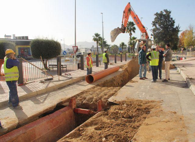 En marcha las obras para la construcción de una nueva red de saneamiento en Puerto Lumbreras - 1, Foto 1