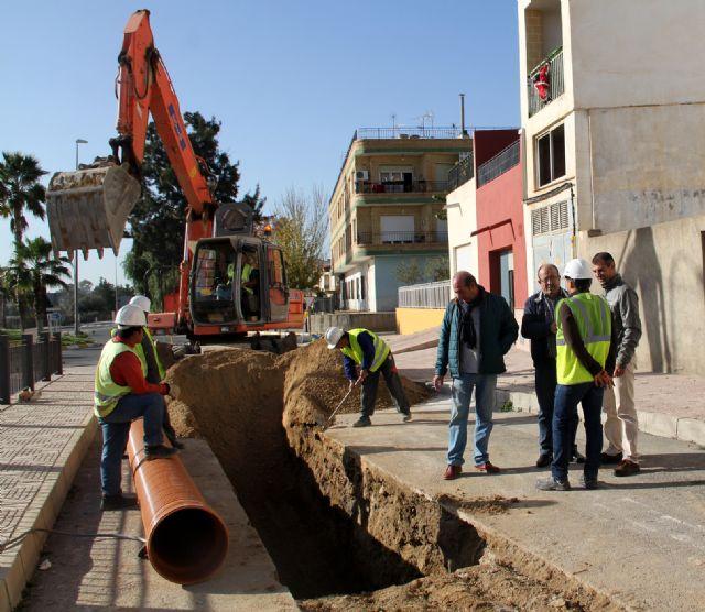 En marcha las obras para la construcción de una nueva red de saneamiento en Puerto Lumbreras - 2, Foto 2