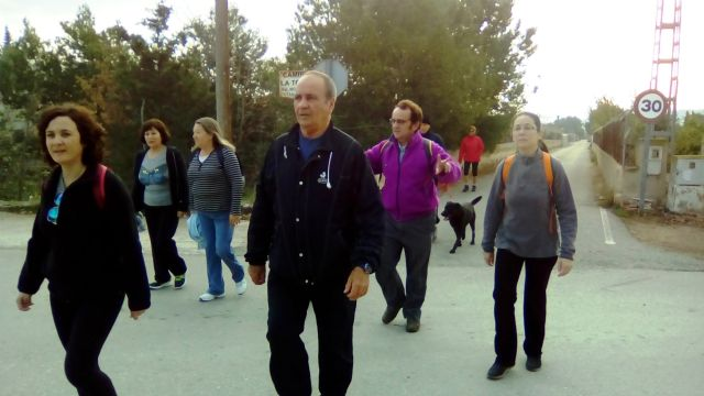The People Walk held on Sunday December 13 closes the sports program under the festivities of Santa Eulalia'2015