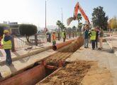 En marcha las obras para la construcción de una nueva red de saneamiento en Puerto Lumbreras