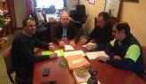 Los trabajadores de Arimesa han recibido el apoyo de Antonio Jiménez, secretario general de UGT