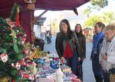 Puerto Lumbreras acoge un Mercado de Navidad con más de 40 artesanos y comerciantes