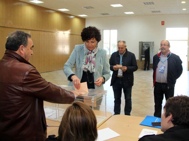 La Alcaldesa de Puerto Lumbreras anima a todos los lumbrerenses a votar en el día grande de la democracia para las Elecciones Generales - 1, Foto 1