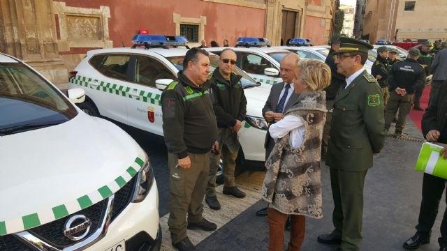 La Comunidad renueva la flota de vehículos de los agentes medioambientales con 15 nuevos coches, Foto 1