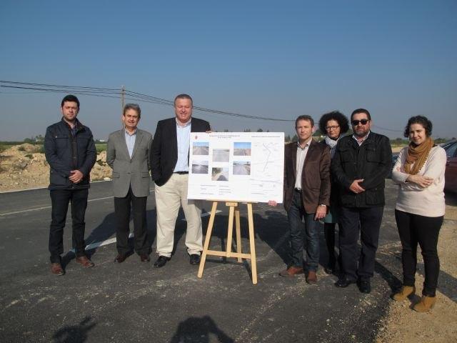 Finalizan las obras de mejora de la seguridad en la carretera que une Torre Pacheco con Balsicas - 1, Foto 1