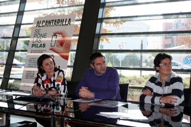 Alcantarilla se pone las pilas, es el slogan elegido para iniciar el nuevo servicio de recogida selectiva de pilas y baterías usadas en el municipio - 5, Foto 5