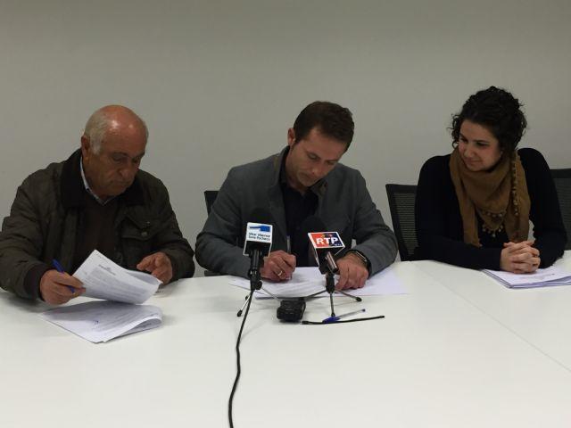 Firma de Convenios de Colaboración entre el Ayuntamiento de Torre-Pacheco y ONG´s - 1, Foto 1