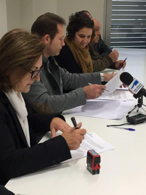 Firma de Convenios de Colaboración entre el Ayuntamiento de Torre-Pacheco y ONG´s - 3, Foto 3