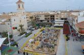 El Belén vuelve a tomar la plaza de España de San Javier