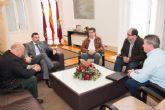 Representantes del polígono indrustrial de La Palma exponen sus preocupaciones al primer edil