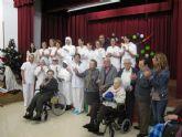 La concejala de Servicios Sociales visita a las Hermanitas de los Pobres