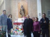La cofradía de San Ginés de la Jara termina su campaña de recogida de juguetes con una participación existosa