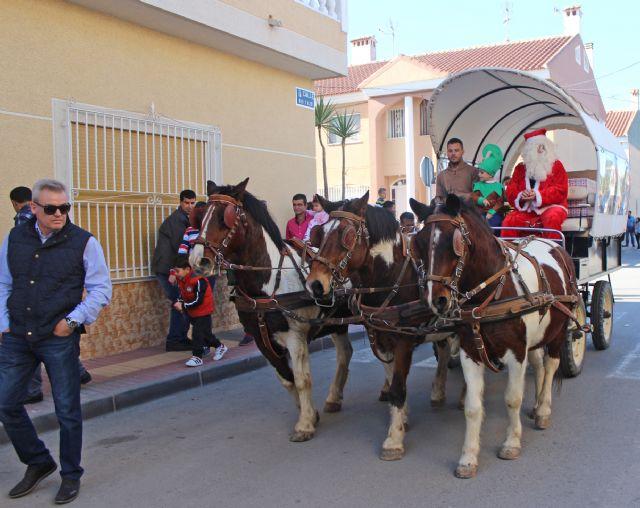 Papá Noel visita a los niños de La Estación-Esparragal - 1, Foto 1