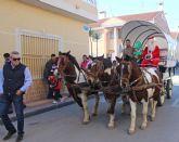 Papá Noel visita a los niños de La Estación-Esparragal