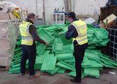 La Guardia Civil esclarece la sustracción de más de un millar de envases de plástico en Cieza