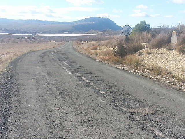 La Comunidad adjudica las obras para la mejora de la carretera que une La Puebla de Mula y Fuente Librilla - 1, Foto 1