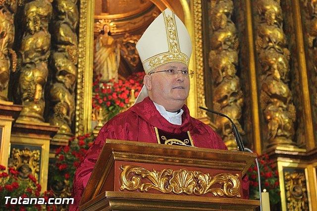 Felicitación de Navidad del Obispo de Cartagena, Foto 1