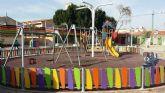 El Ayuntamiento de Murcia continúa con el plan de mejora de zonas de juegos infantiles